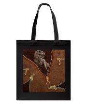 Dinosaur Leather Tote Bag tile