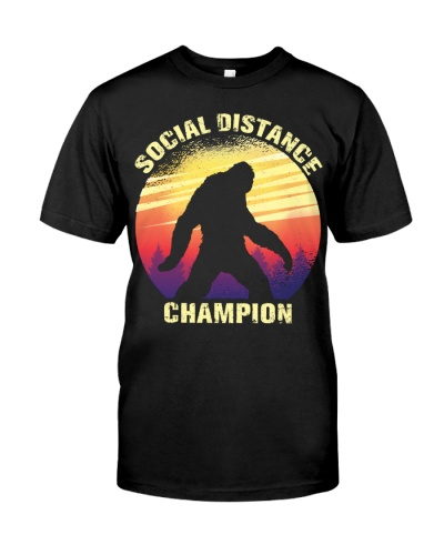 Sasquatch Conspiracy Social Distance Champion Gift