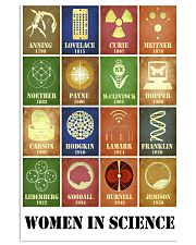 Women In Science 11x17 Poster front
