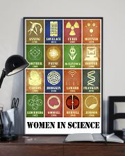 Women In Science 11x17 Poster lifestyle-poster-2