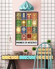 Women In Science 11x17 Poster lifestyle-poster-6