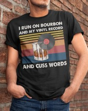 I run on bourbon Classic T-Shirt apparel-classic-tshirt-lifestyle-26