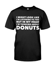 I'm thinking about donuts Classic T-Shirt tile