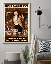 I drink scotch and I know things 11x17 Poster lifestyle-poster-1