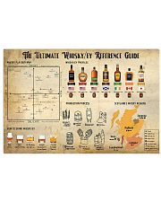 The Ultimate Whiskey Reference Guide 17x11 Poster front