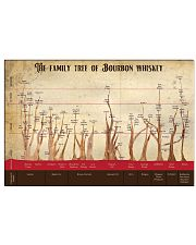 The family tree of bourbon 17x11 Poster front
