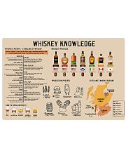Whiskey Knowledge 17x11 Poster front