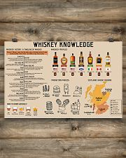 Whiskey Knowledge 17x11 Poster poster-landscape-17x11-lifestyle-14