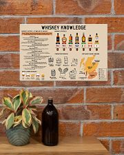 Whiskey Knowledge 17x11 Poster poster-landscape-17x11-lifestyle-23