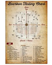 Bourbon Tasting Chart 11x17 Poster front