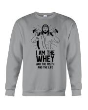 I am the whey the truth the life Crewneck Sweatshirt thumbnail