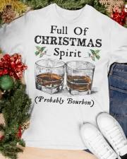 Full of Christmas spirit Classic T-Shirt apparel-classic-tshirt-lifestyle-front-82
