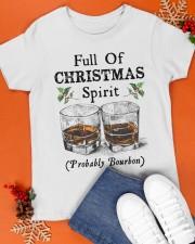 Full of Christmas spirit Classic T-Shirt apparel-classic-tshirt-lifestyle-front-83