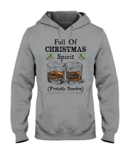 Full of Christmas spirit Hooded Sweatshirt tile