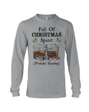 Full of Christmas spirit Long Sleeve Tee tile
