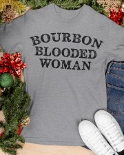 Bourbon blooded woman Classic T-Shirt apparel-classic-tshirt-lifestyle-front-82