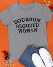 Bourbon blooded woman Classic T-Shirt apparel-classic-tshirt-lifestyle-front-83
