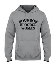 Bourbon blooded woman Hooded Sweatshirt tile