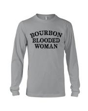 Bourbon blooded woman Long Sleeve Tee tile