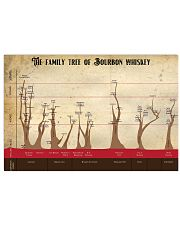 The family tree of Bourbon whiskey 17x11 Poster front