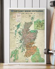 Scotland's Whisky Distilleries Map 11x17 Poster lifestyle-poster-4