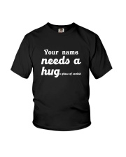 Personalized Needs a Hug Youth T-Shirt tile