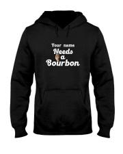 Personalized Needs a bourbon Hooded Sweatshirt tile