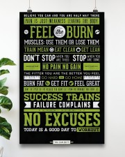 Home Gym Motivation 11x17 Poster aos-poster-portrait-11x17-lifestyle-19