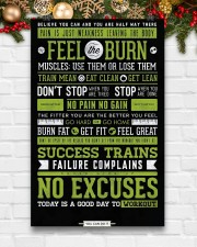 Home Gym Motivation 11x17 Poster aos-poster-portrait-11x17-lifestyle-23