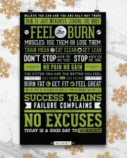Home Gym Motivation 11x17 Poster aos-poster-portrait-11x17-lifestyle-25