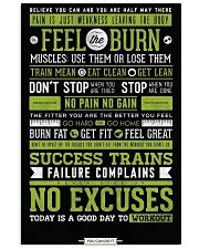 Home Gym Motivation 11x17 Poster front