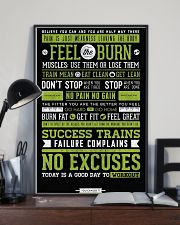 Home Gym Motivation 11x17 Poster lifestyle-poster-2