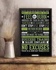 Home Gym Motivation 11x17 Poster lifestyle-poster-3