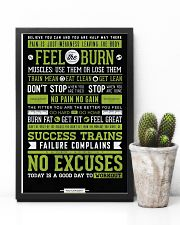 Home Gym Motivation 11x17 Poster lifestyle-poster-8