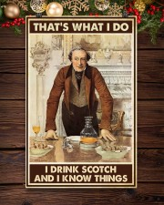 I drink scotch 11x17 Poster aos-poster-portrait-11x17-lifestyle-22