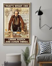 I drink scotch 11x17 Poster lifestyle-poster-1