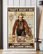 I drink scotch 11x17 Poster lifestyle-poster-4