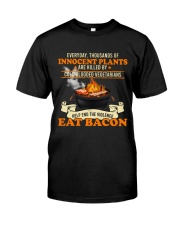 Eat Bacon Classic T-Shirt front
