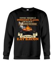 Eat Bacon Crewneck Sweatshirt tile