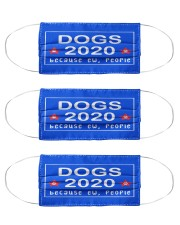 Dogs 2020 Cloth Face Mask - 3 Pack front