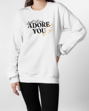 just let me Adore you Crewneck Sweatshirt apparel-crewneck-sweatshirt-lifestyle-front-09