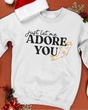 just let me Adore you Crewneck Sweatshirt apparel-crewneck-sweatshirt-lifestyle-front-20