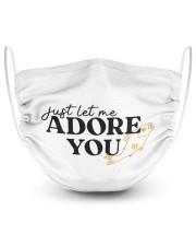 just let me Adore you Masks tile
