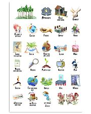 ABCs of Life Art 11x17 Poster front