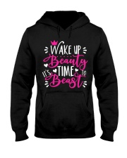 Wake Up Beauty It's Time To Beast Hooded Sweatshirt tile