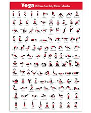 115 Yoga Poses 11x17 Poster front
