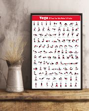 115 Yoga Poses 11x17 Poster lifestyle-poster-3