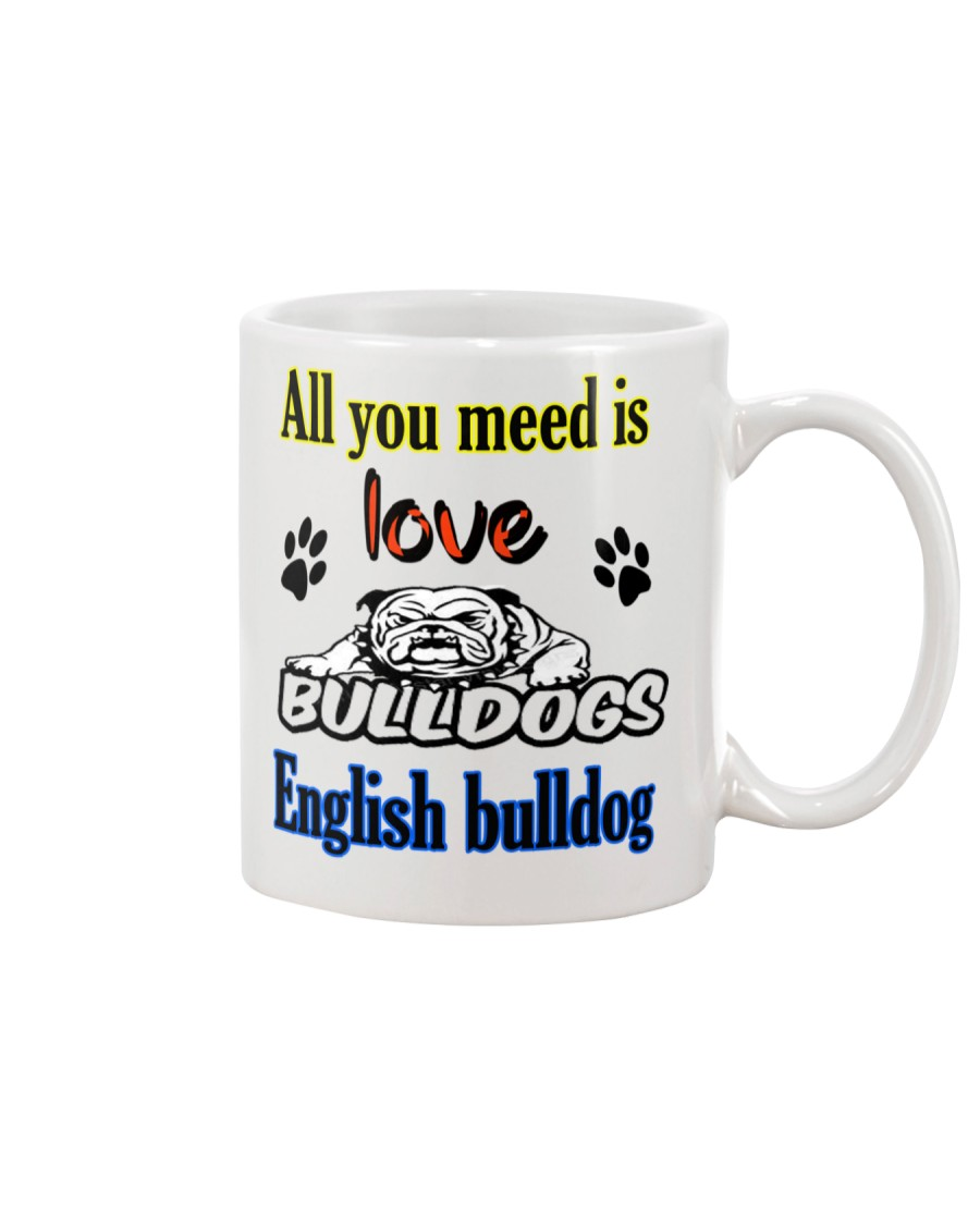 bulldog dogs  Mug