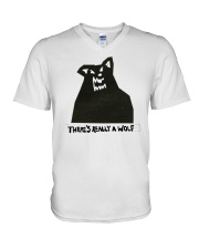 There's Really A Wolf - Russ hoodie V-Neck T-Shirt thumbnail