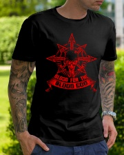 BLOOD FRONT SIDE Classic T-Shirt lifestyle-mens-crewneck-front-7